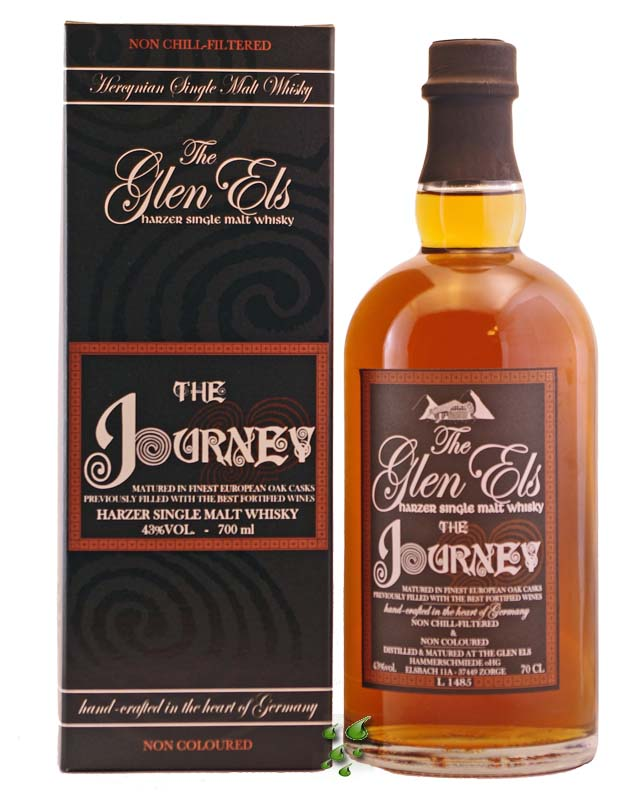 ... of two) , and The Glen Els The Journey Harzer Single Malt Whisky ($80