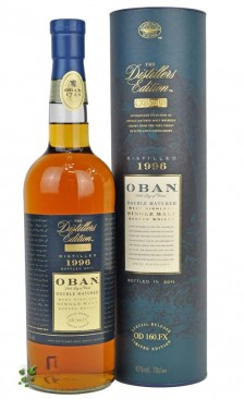 Oban 1998 Distillers Edition Double Matured Single Malt Whisky