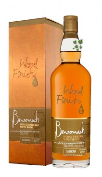 Single Malt Whisky Benromach Sassicaia 2011 Wood Finish