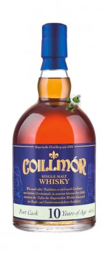 Coillmór Port Single Cask 10 Jahre Single Malt Whisky