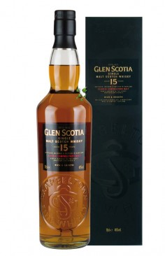 Campbeltown GlenScotia 15 Years Single Malt Whisky