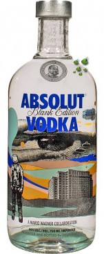 Absolut Vodka Blank Mario Wagner Edition
