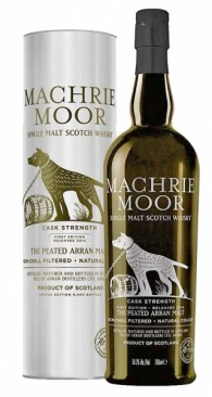 Machrie Moor Cask Strength Second Edition 2015 20PPM Isle of Arran