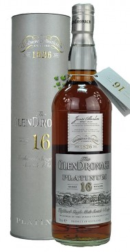 GlenDronach Old Platinum 16 Jahre Highland Single Malt Whisky