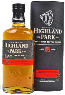 Highland Park 18 Single Malt Scotch