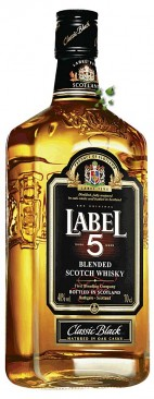 Label 5 Classic Black Whisky