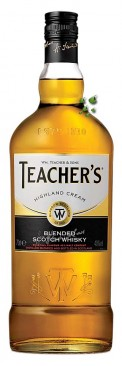 Whisky Teacher's Highland Cream Blended Scotch