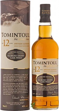 Tomintoul 12 Jahre Oloroso Cask Finish Single Malt Whisky