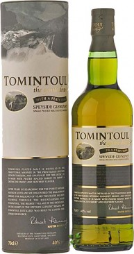 Tomintoul Peated Tang Single Speyside Malt Whisky