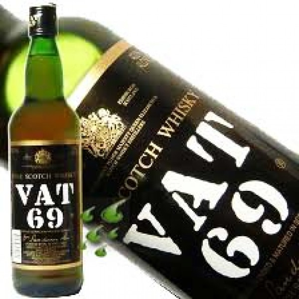 VAT 69 Finest Scotch Blended Scotch Whisky