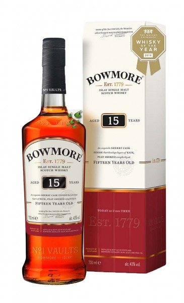 Bowmore 15 Years Sherry Islay Single Malt Scotch Whisky