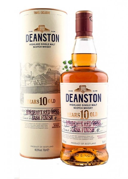 Deanston Bordeaux Oak Single Malt Whiskyshop Deutschland