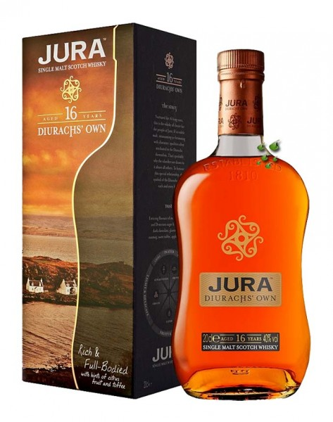 Diurachs Own vom Jura scotch Whisky