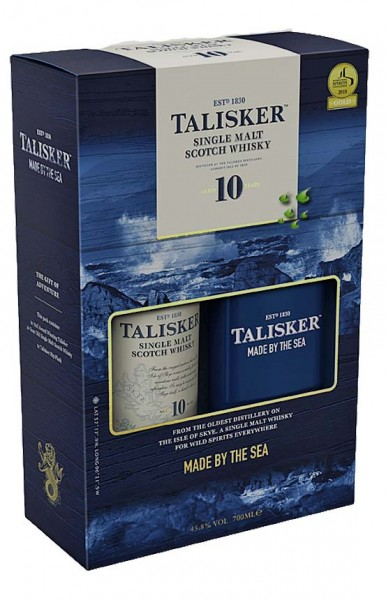 Talisker 10 Jahre Single Malt Made by the Sea Whiskyshop Deutschland