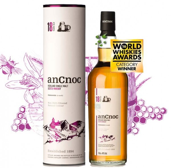 AnCnoc Whisky 18 Jahre Single Highland Malt