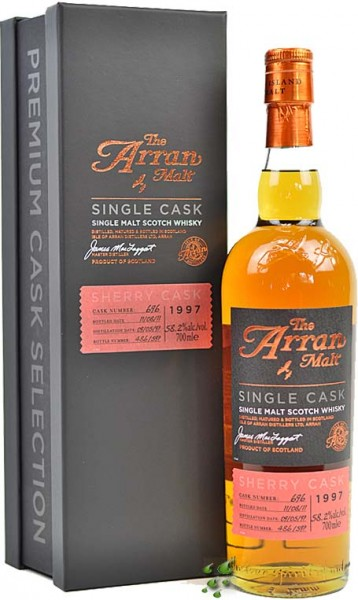 Arran 15 Jahre Premium Sherry Cask Finish 1997