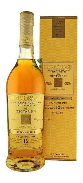 Glenmorangie NECTAR D-OR 12 Jahre alt Highlands Whisky