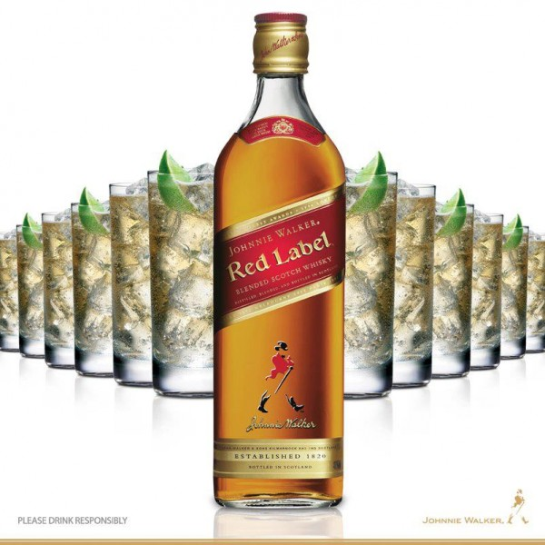 Johnnie Walker RED LABEL Whisky shop