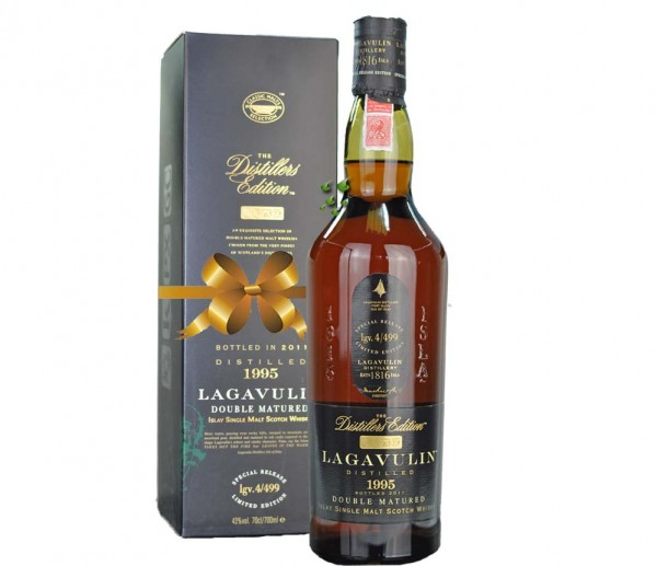Lagavulin Distillers whisky Edition 1995 - 2013