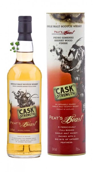 Peats-Beast-Pedro Ximinez Sherry Wood Cask-Strenght Whisky single Islay Malt