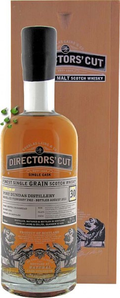 Port Dundas 30 Jahre DIRECTORS CUT WHISKY