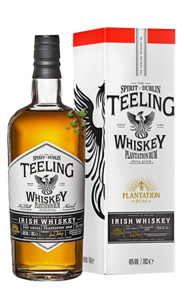 Teeling Rum Plantation Release Single Pot Still Irish Whiskey